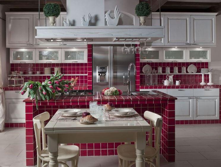 Cucine in muratura il mosaico s n c - Piastrelle cucina muratura ...
