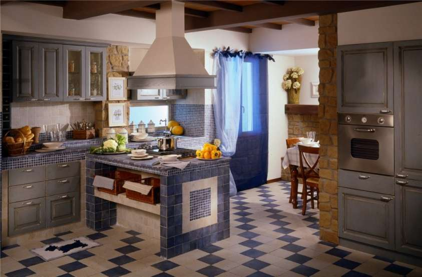 Conosciuto Stunning Cucine Di Campagna In Muratura Ideas - Ideas & Design  QA68